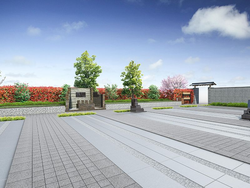 所沢霊源寺墓苑