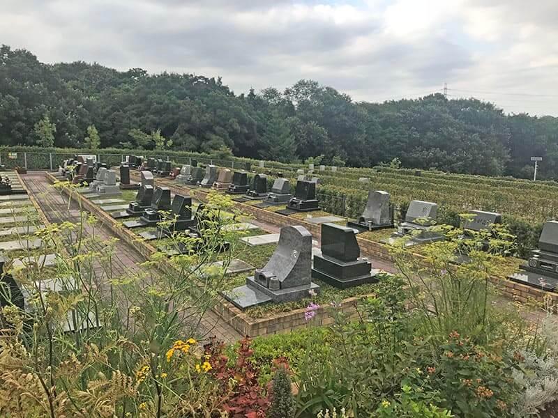 川崎清風霊園墓域