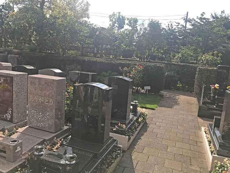 練馬ねむの木ガーデン墓石雰囲気