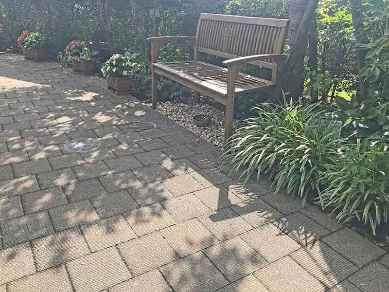 練馬ねむの木ガーデン休憩場所
