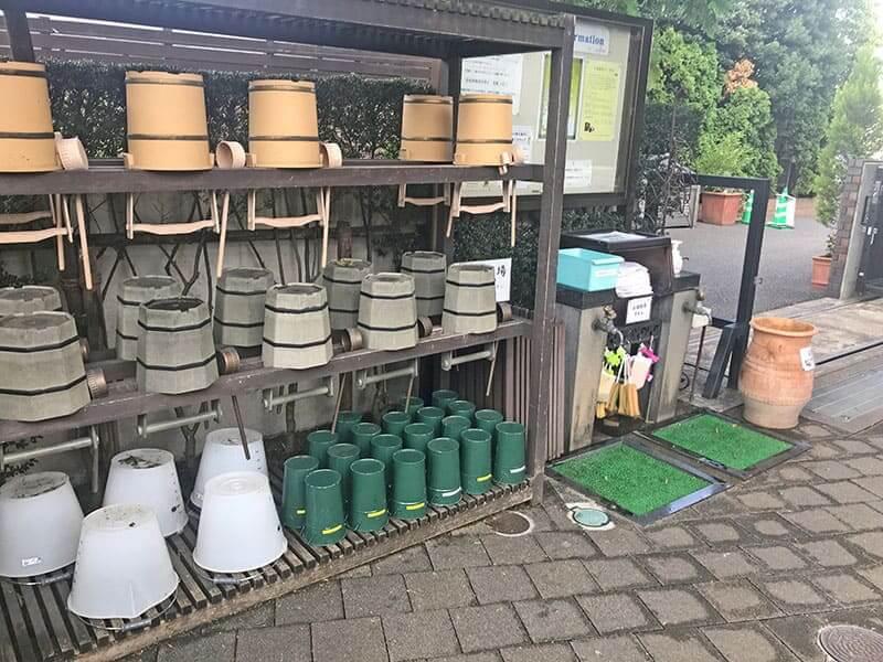 練馬ねむの木ガーデン水汲み場