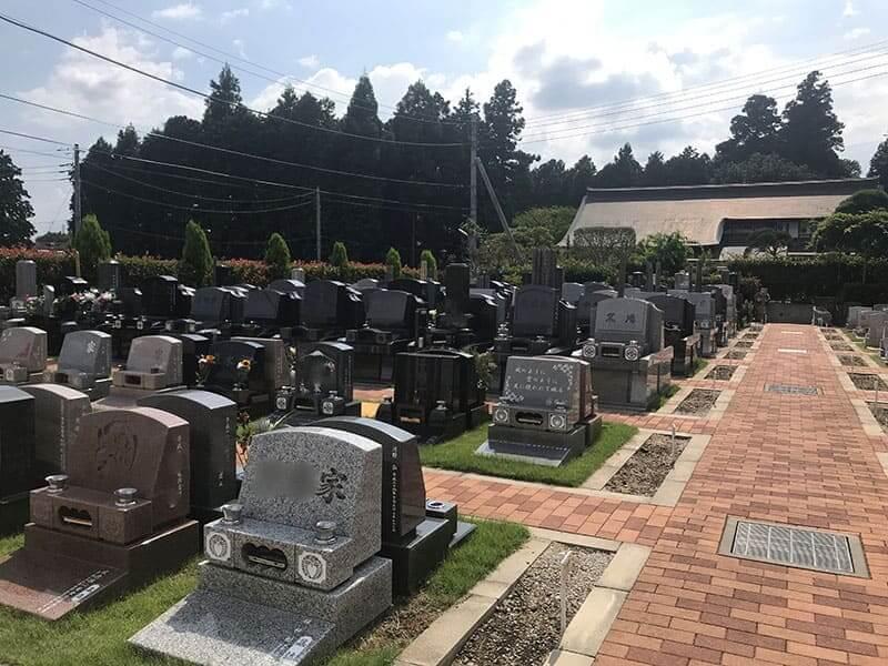 メモリアルガーデン山田のお墓雰囲気