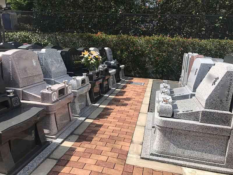メモリアルガーデン山田洋型墓石