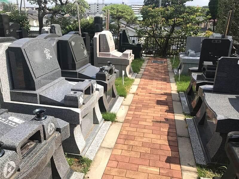 メモリアルガーデン山田の墓域