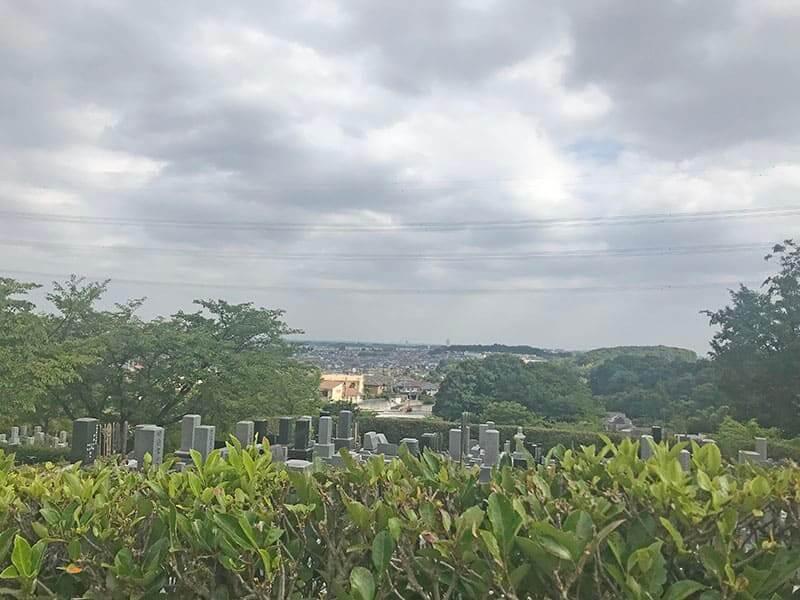町田いずみ浄苑フォレストパーク景色