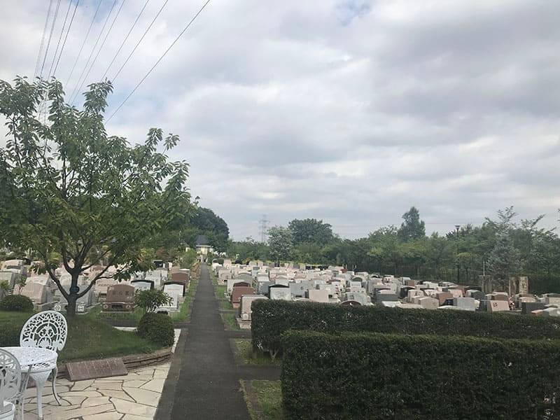 町田いずみ浄苑フォレストパークお墓雰囲気