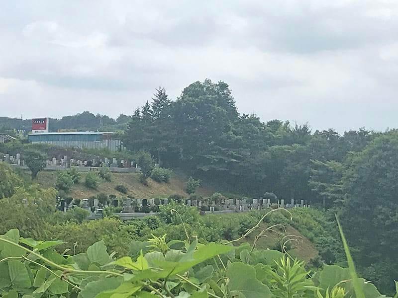 片倉聖地霊苑風景