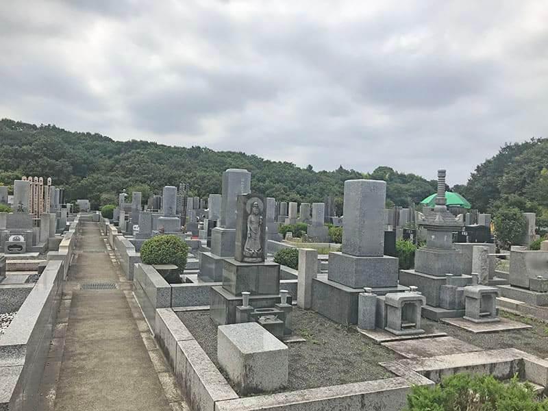 片倉聖地霊苑お墓区域