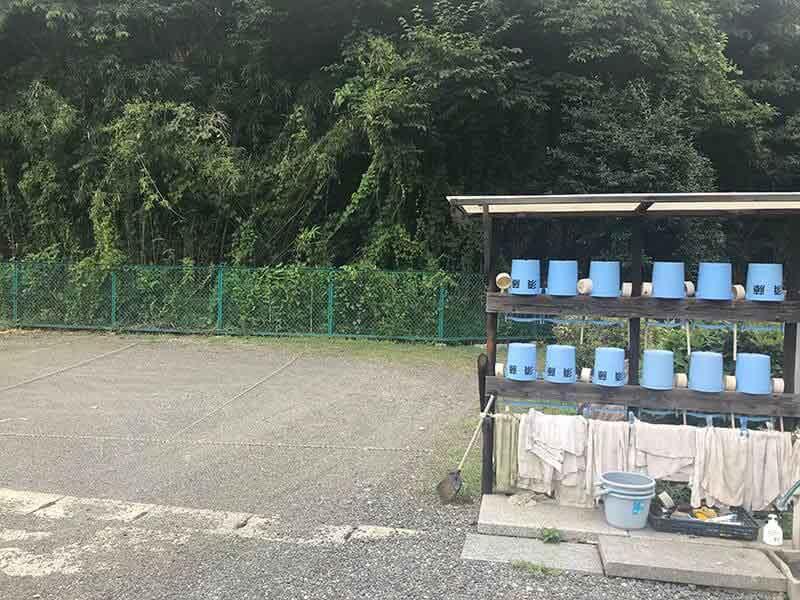 片倉聖地霊苑水汲み場