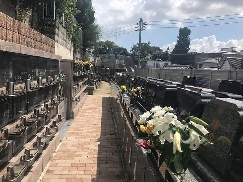 真英寺墓域
