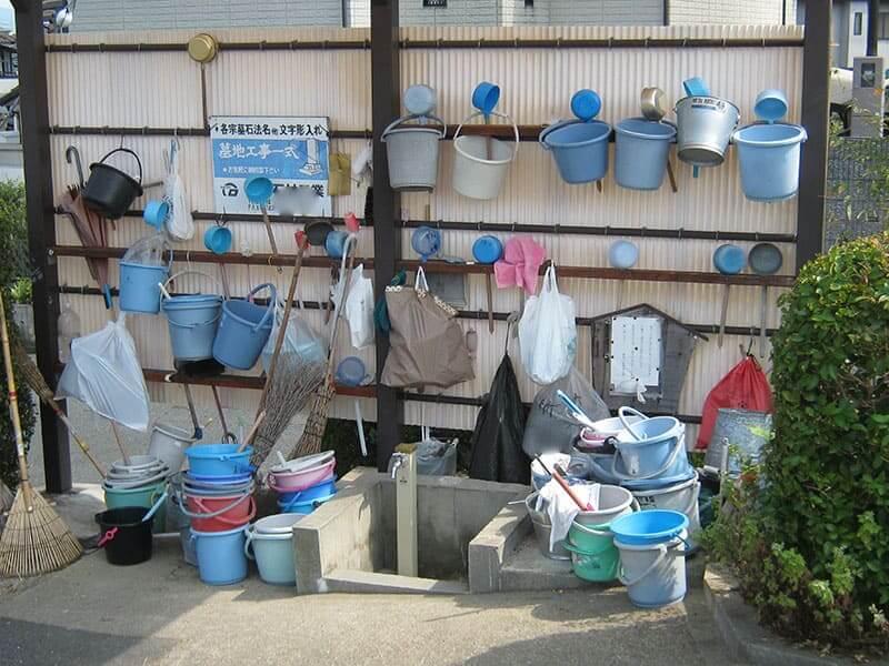 七条町南山墓地設備水道