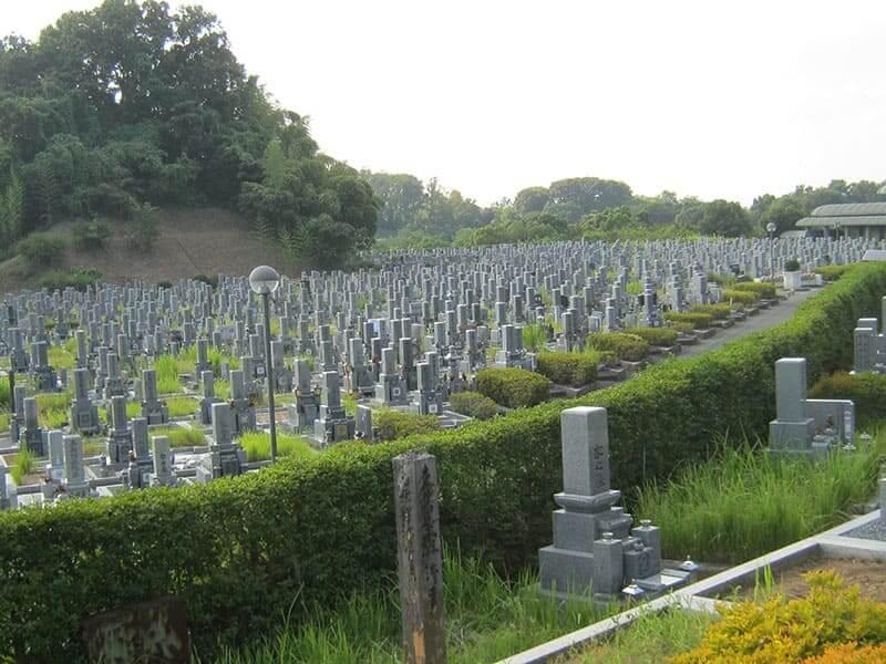 香具山墓園の全体雰囲気