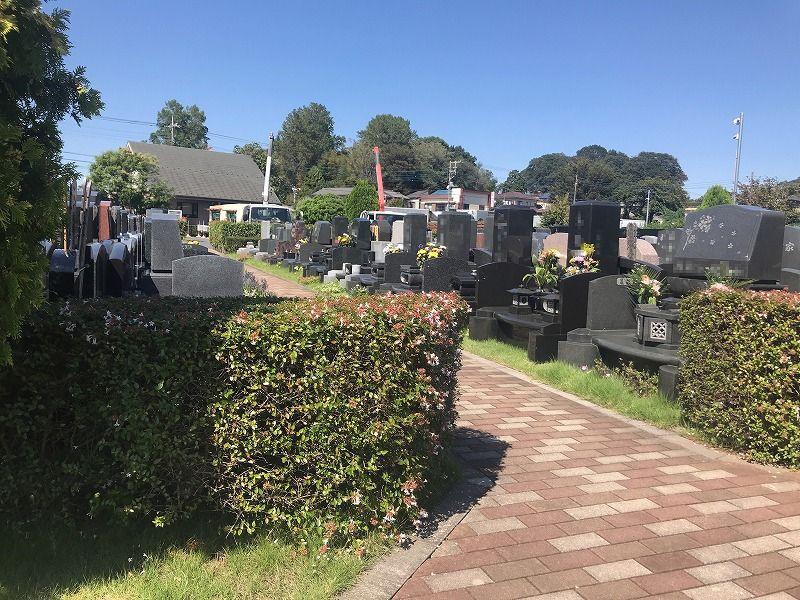 メモリアルパーク川口山王 墓石の建立例