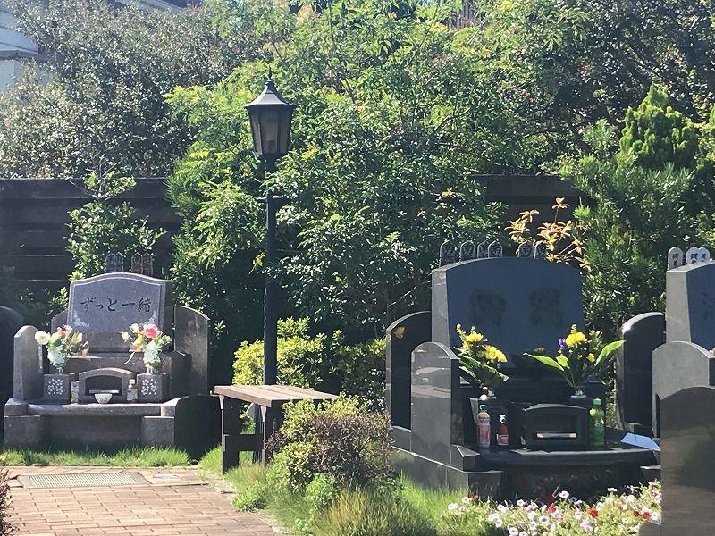 メモリアルパーク川口山王 霊園内の雰囲気