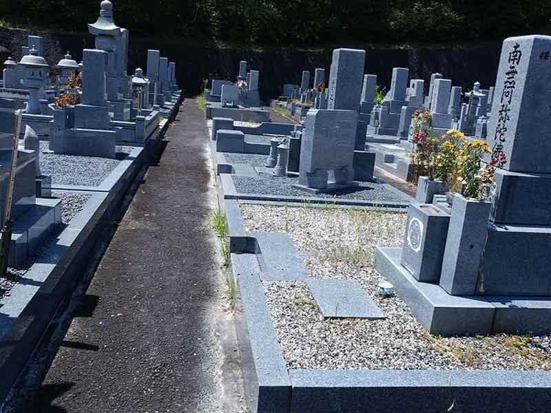 名張市営 東山墓園のお墓区画