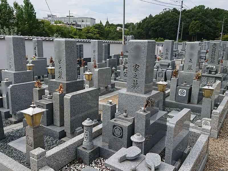 発志院墓地のお墓区画