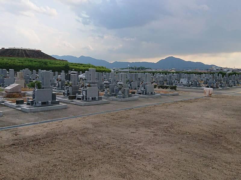 広陵町営 石塚霊園のお墓雰囲気