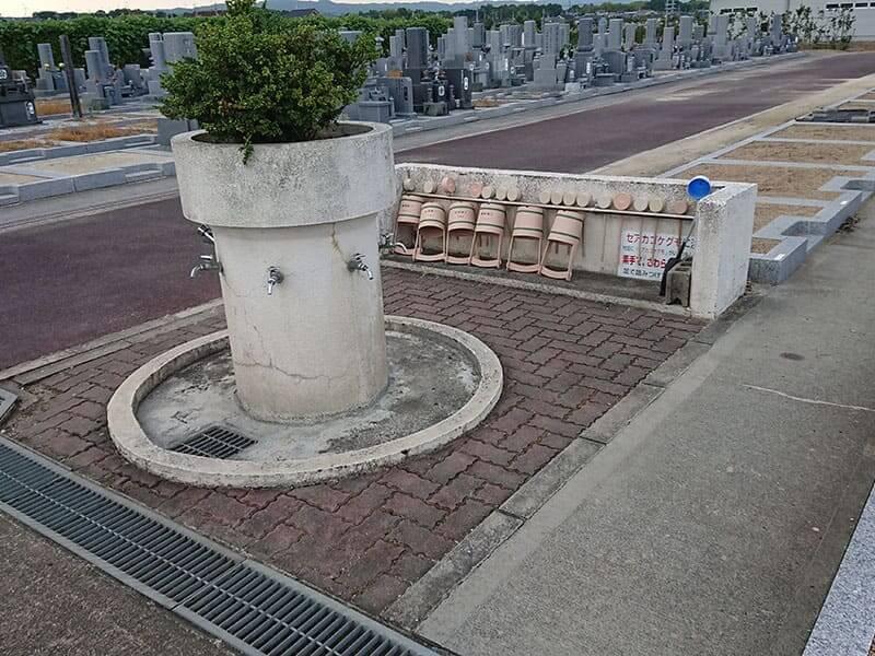 広陵町営 石塚霊園水道設備