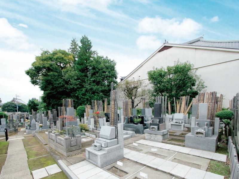 久榮山妙泉寺のお墓区画