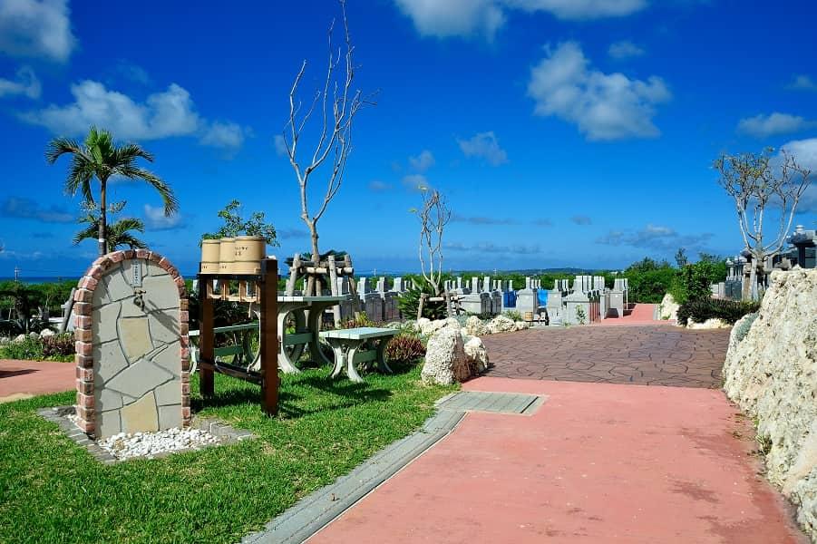 宮古島メモリアルパーク内の水汲み場