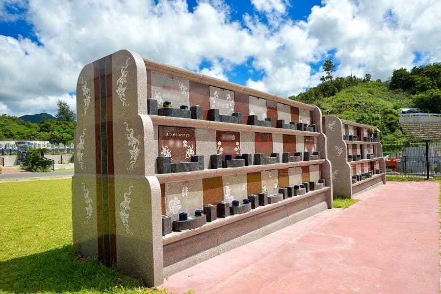 宮古島メモリアルパーク内の永代供養墓