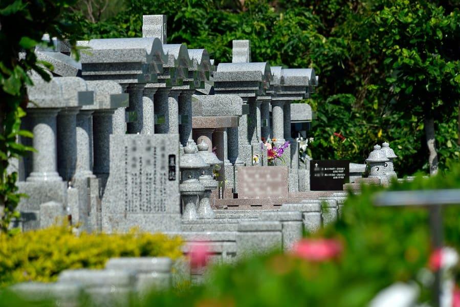 中城メモリアルパーク霊園の雰囲気