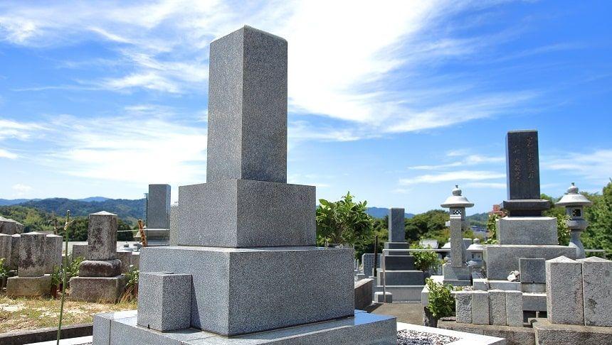 一般的な和型墓石