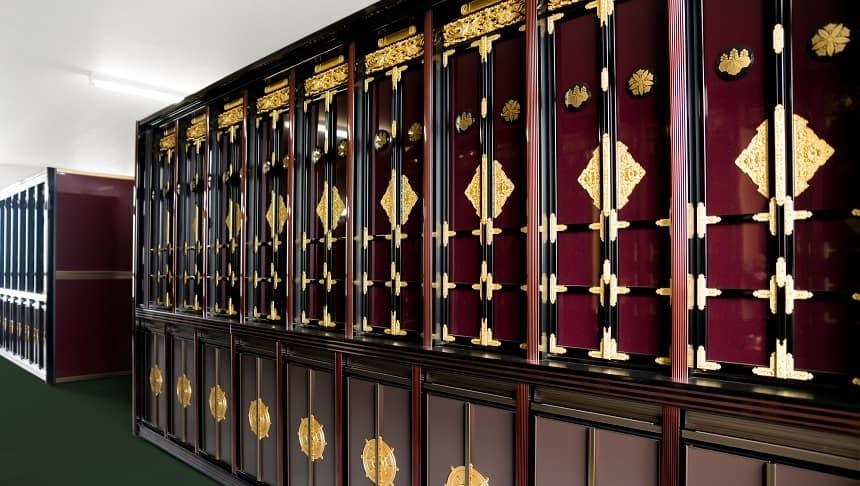 仏壇式の納骨堂