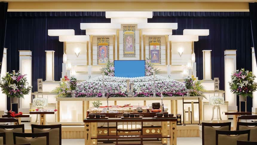 生前葬の葬儀会場