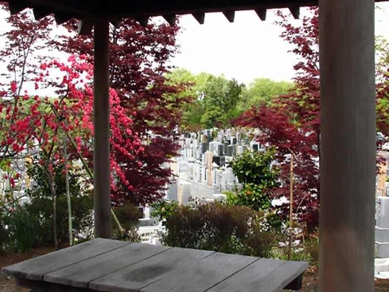 森林公園昭和浄苑 四季折々緑を楽しめる苑内