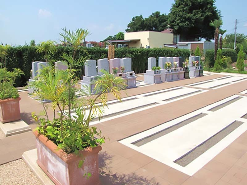 西上尾メモリアルガーデン 平坦な墓地区画
