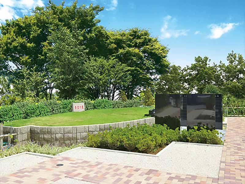 あおぞら霊園 日当たり良好な樹木葬型永代供養墓