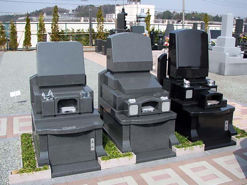 緑山メモリアルパーク 墓石完成イメージ