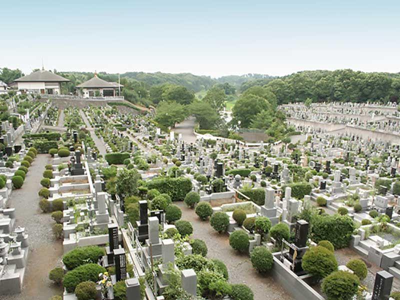 森林公園昭和浄苑 区画整理された墓域