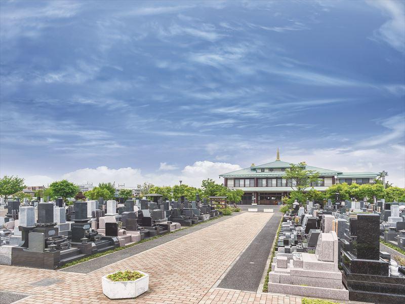 花木の彩 新埼玉霊園 風通しの良い広い敷地