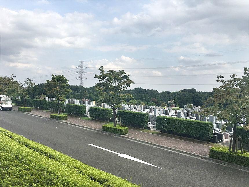 東京多摩霊園8
