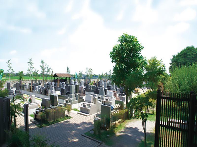 久喜聖地公苑 日当たりのよい墓域