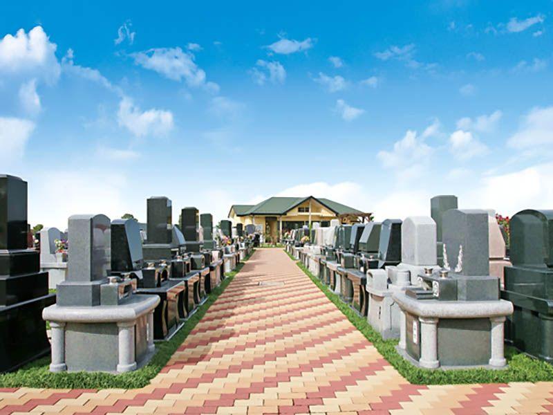 うらわ秋ヶ瀬霊園 墓地風景