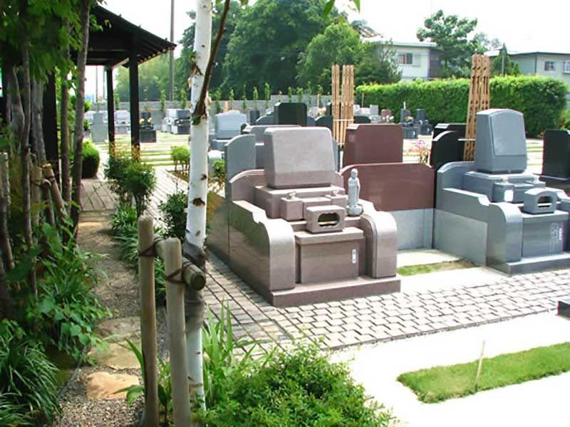 久喜聖地公苑 まだ余裕のある区画