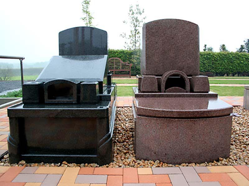 西上尾メモリアルガーデン 洋型墓石