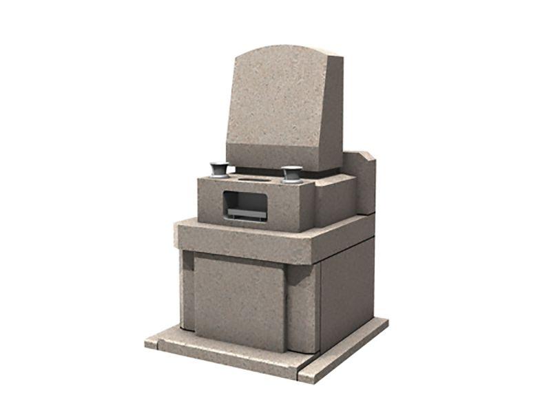 メモリアルパーク伊奈 御影石が美しい洋型墓石