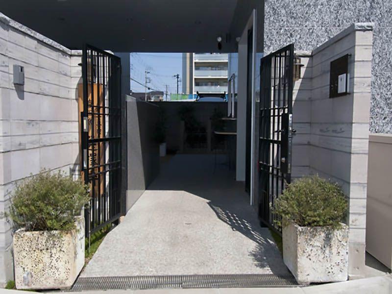 川口元郷聖地 管理棟入口