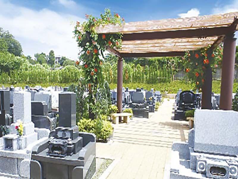川口フォーシーズンメモリアル 四季折々の花々を楽しめる墓域
