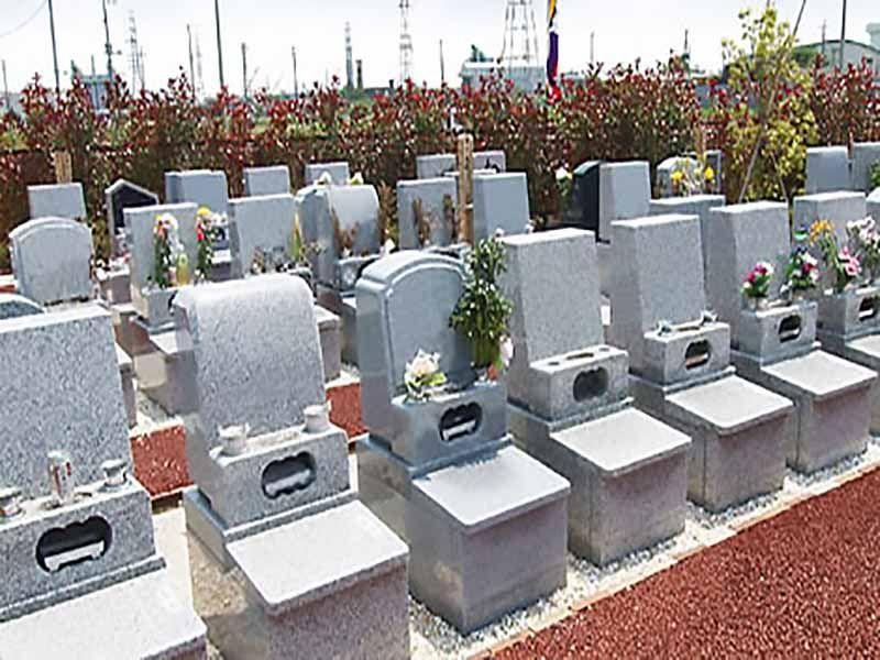 芝生の霊園あさか野セカンドステージ 区画整理された墓域