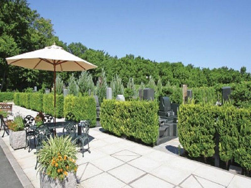 新ゆり天望の丘墓苑 自然豊かな苑内