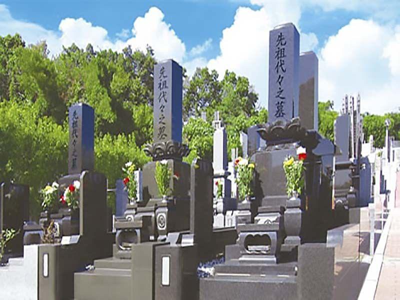 春日部メモリアルヒルズ 一般墓の建墓例