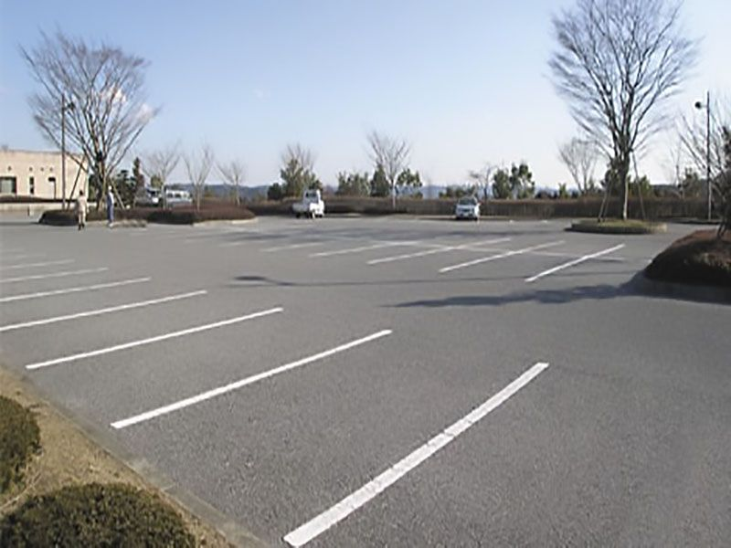 君津市営 聖地公園墓地 駐車スペース