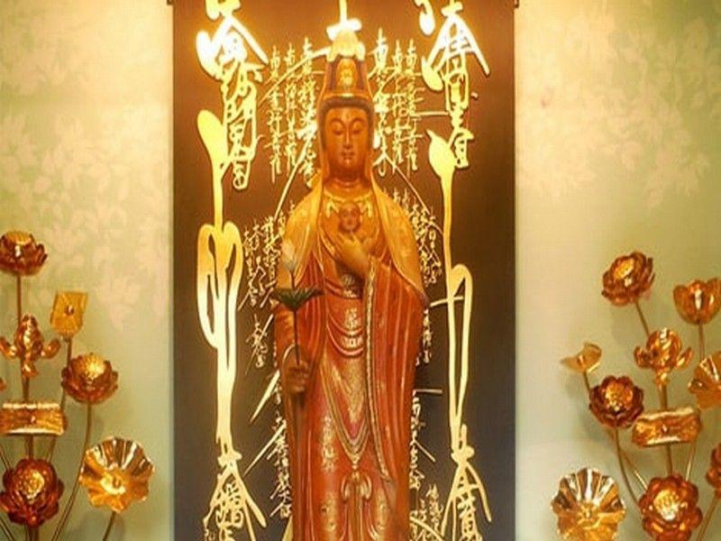 深妙寺 江戸川観音浄苑 納骨堂内の仏像
