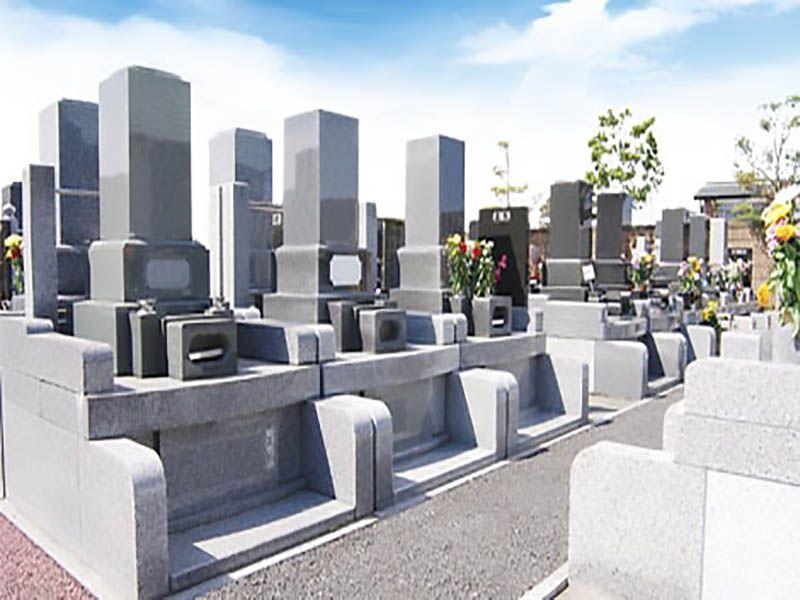 さくらメモリアルパーク 区画整理された墓域
