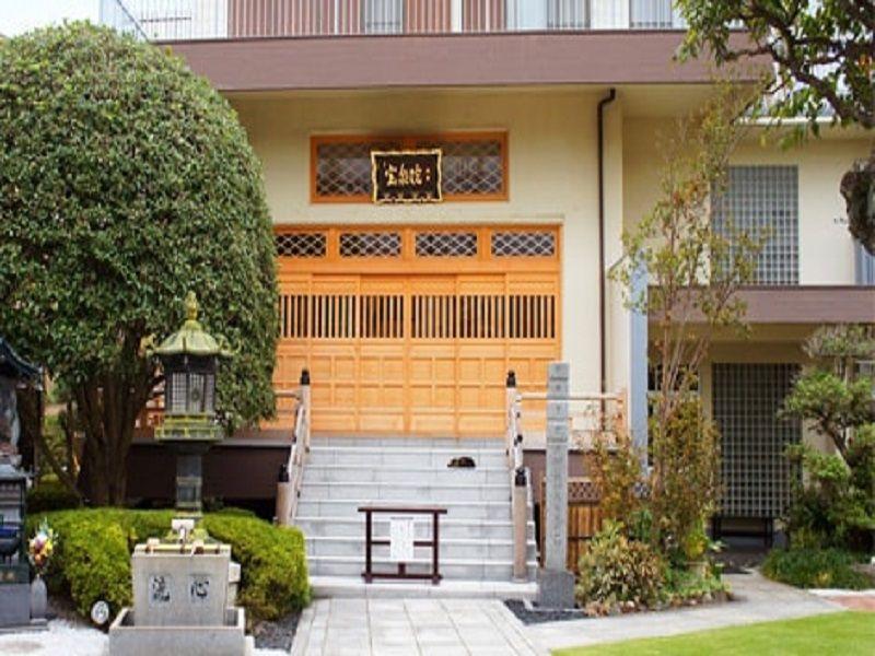 メモリアル庭園桜ヶ丘 隣接する真言宗智山波「宝泉院」